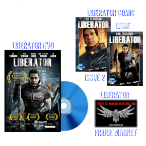 Liberator Movie Deluxe Combo Package